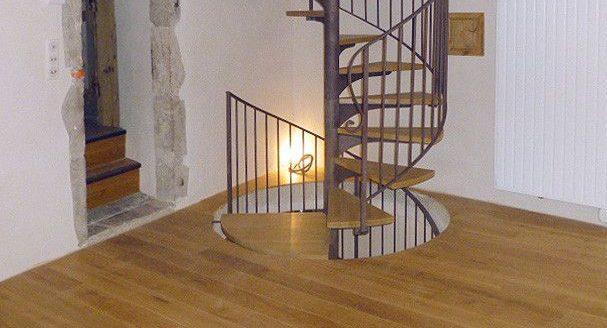 Parquet et escaliers