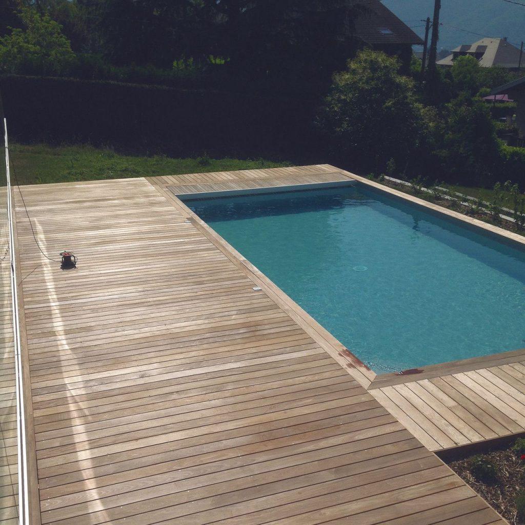 Création terrasse en bois exotique