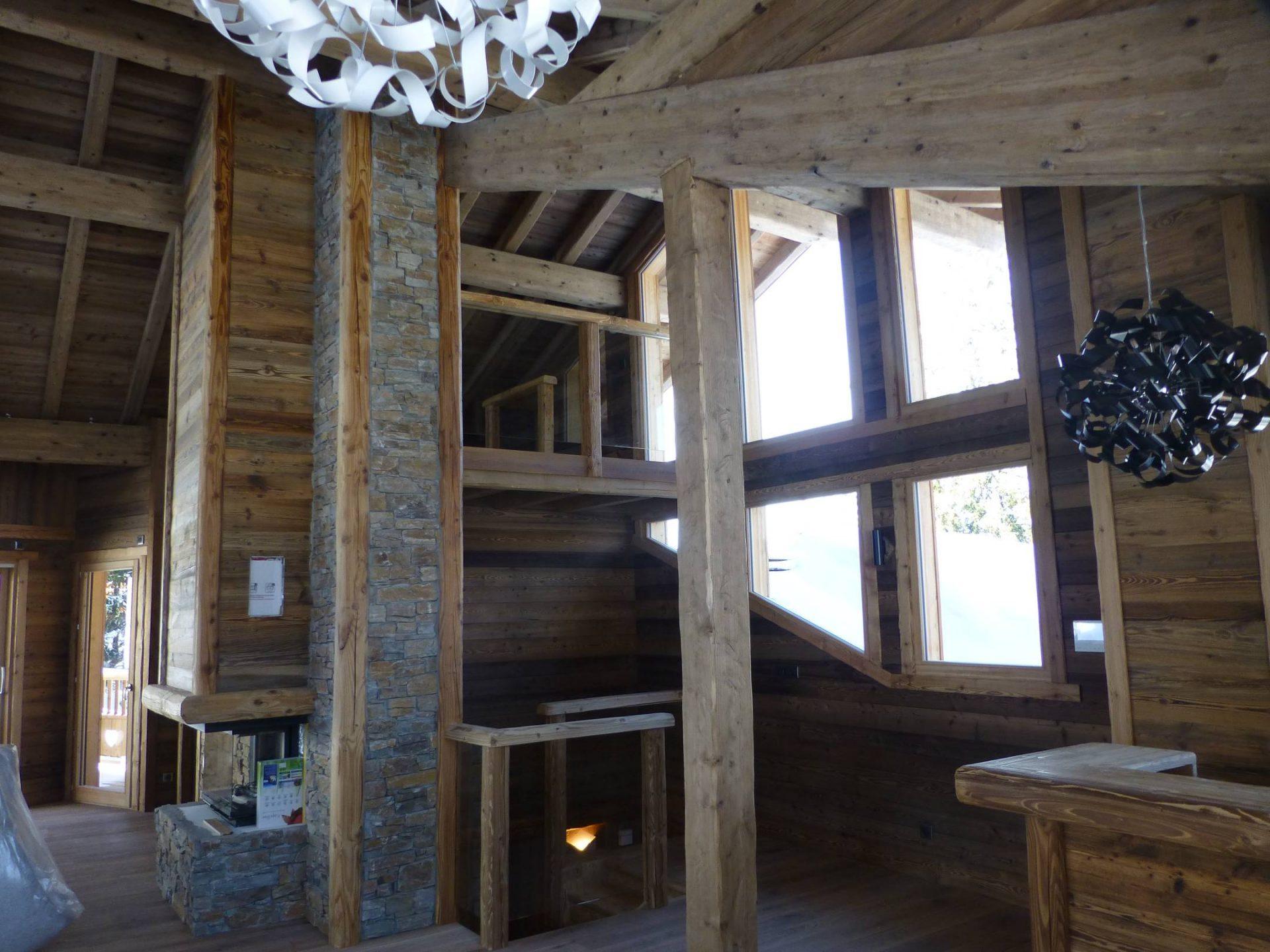 Chalet Aval Le Tania - Bekok - Aménagement intérieur & extérieur